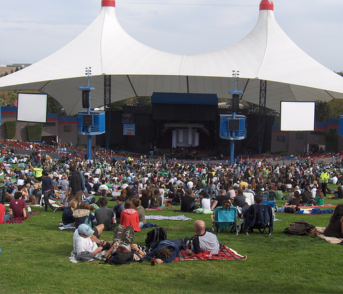 Shoreline Amphitheater, site of Harmony By The Bay